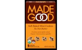 MadeGood soft baked mini cookies