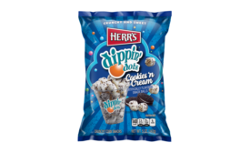 Herrs Dippin Dots Cookies n Cream Snack Balls