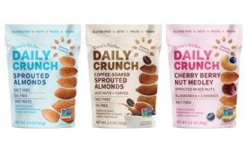 New sprouted nut product, Daily Crunch Snacks, launches online and at retailers nationwide