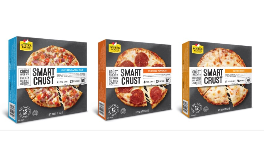 Foster Farms introduces Smart Crust pizza