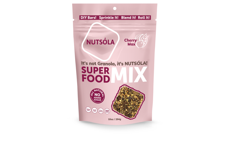 NUTSÓLA new superfood mix flavor, Cherry Max