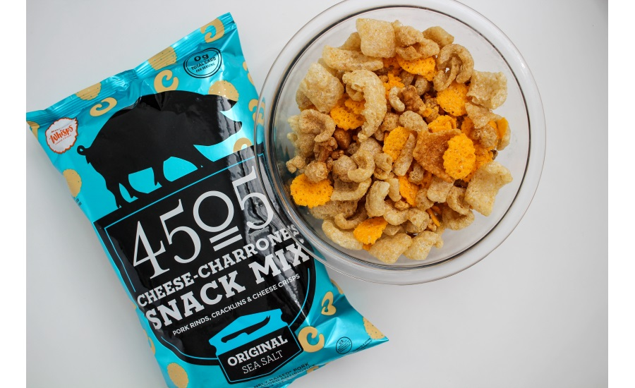 4505 Meats partners with Whisps Cheese Crisps to launch new snack mix