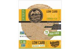 La Tortilla Factory Organic Low Carb Tortillas and Low Carb High Fiber Quinoa & Flax Tortillas