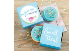 Cheryls Cookies You Are Mermazing Cookie Card, Gift Tin, and Gift Pail