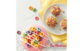 Tim Hortons introduces Froot Loops Dream Donut