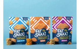 Fat Snax launches Almond Flour Crackers