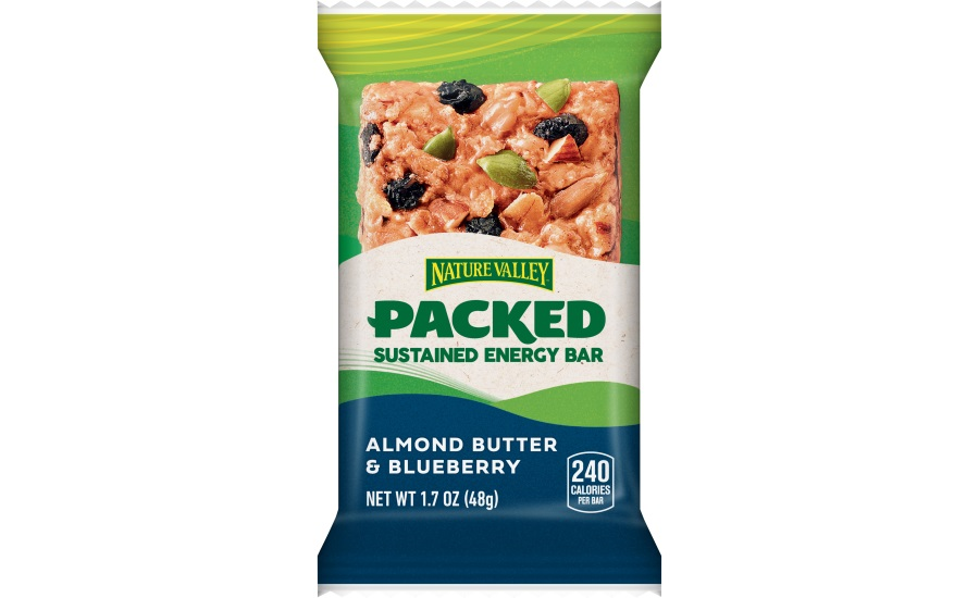 Nature Valley PACKED offers sustained energy in convenient bar format