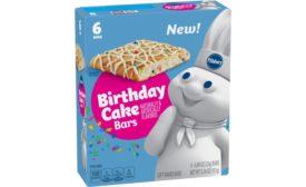 Pillsbury Birthday Cake Bars and Chocolate Fudge Brownies