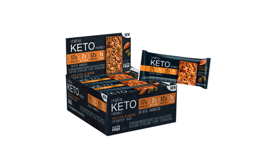 General Mills Convenience introduces Ratio keto-friendly bars