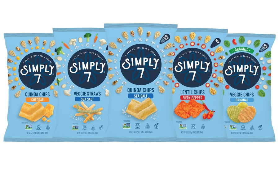 Simply 7 introduces two snacks perfect for summer, and launches new branding