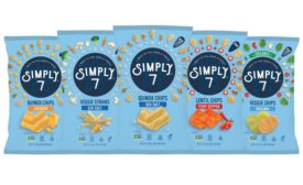 Simply 7 Snacks Gluten-free and Non-GMO Sea Salt Veggie Straws & Fiery Pepper Lentil Chips now in stores