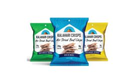 Kalahari Snacks continues to innovate meat snacks category with first-to-market crisps