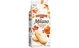 Milano Limited-Edition Pumpkin Spice cookies