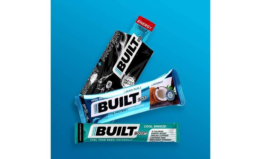 Built Brands announces major relaunch with return of the Original Built Bar, new product offerings, and a new facility