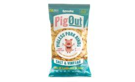 PigOut Pigless Pork Rinds Salt & Vinegar flavor