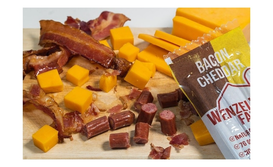 Wenzels Farm Bacon Cheddar Snack Stick