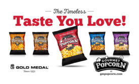 Gold Medal introduces ready-to-eat gourmet popcorn line