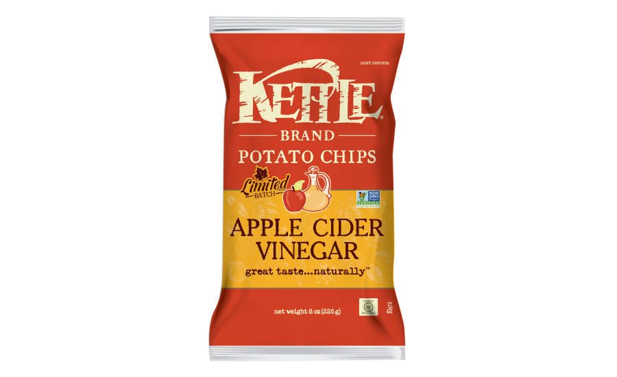 Kettle Brand Limited Batch Apple Cider Vinegar Chips