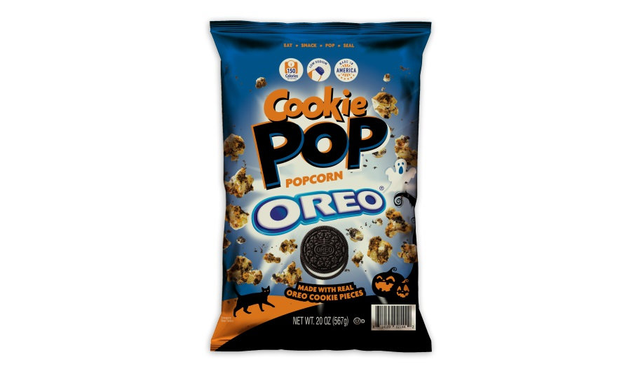 Snack Pop unveils special edition Halloween Cookie Pop made with OREO cookie pieces