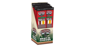 Old Trapper Zero Sugar, High Protein Beef-n-Cheese Snack Sticks