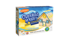 This Festival of Lights, Manischewitz & PJ Library invite families to build a sweet new holiday tradition with the Chanukah House Cookie Kit