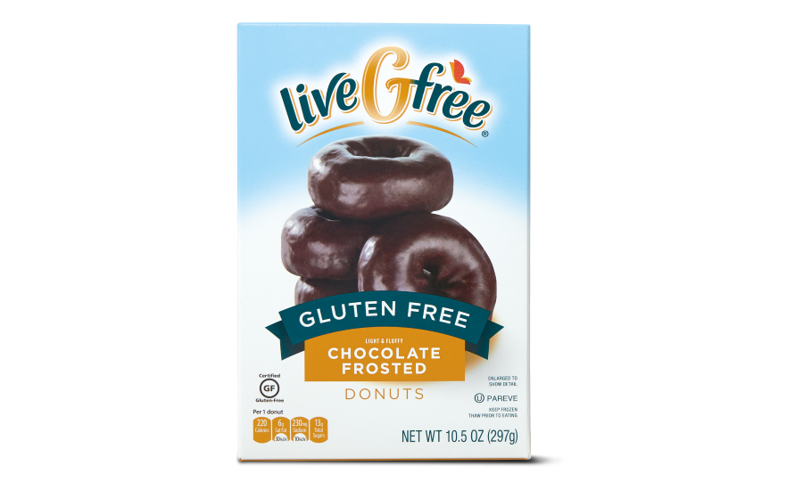 ALDI liveGfree Gluten-free Glazed and Chocolate Donuts
