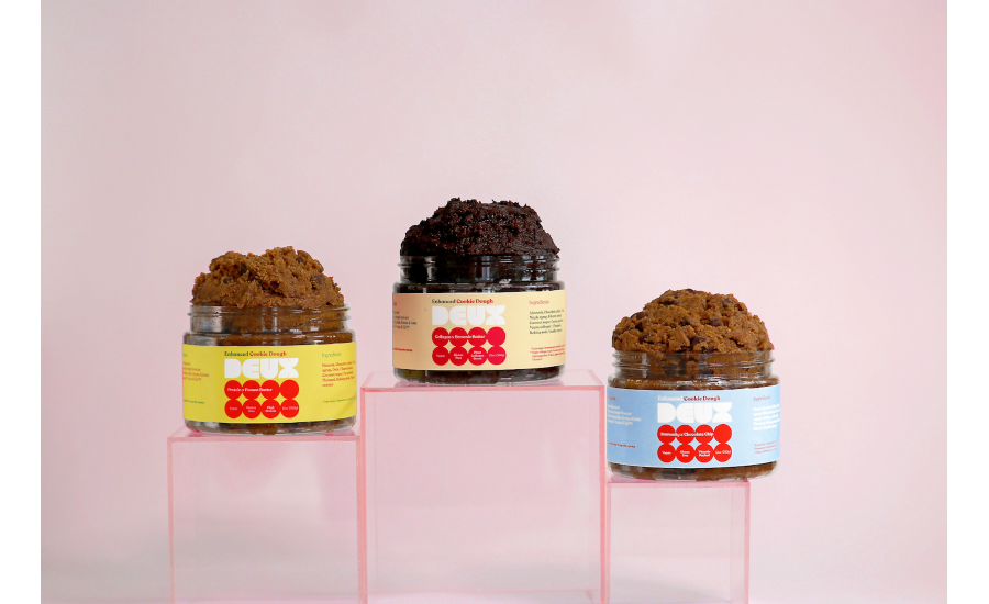 Deux launches line of functional plant-based cookie doughs