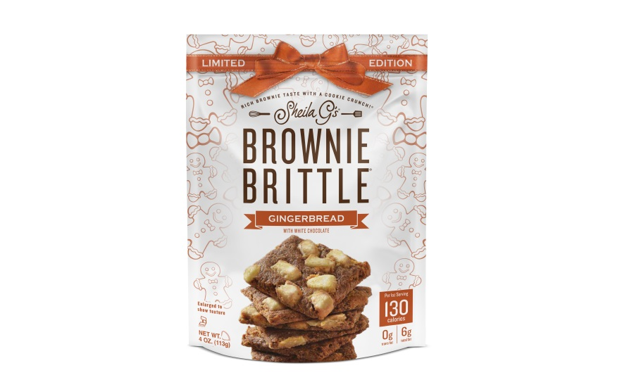 Sheila Gs Brownie Brittle limited-edition holiday flavors
