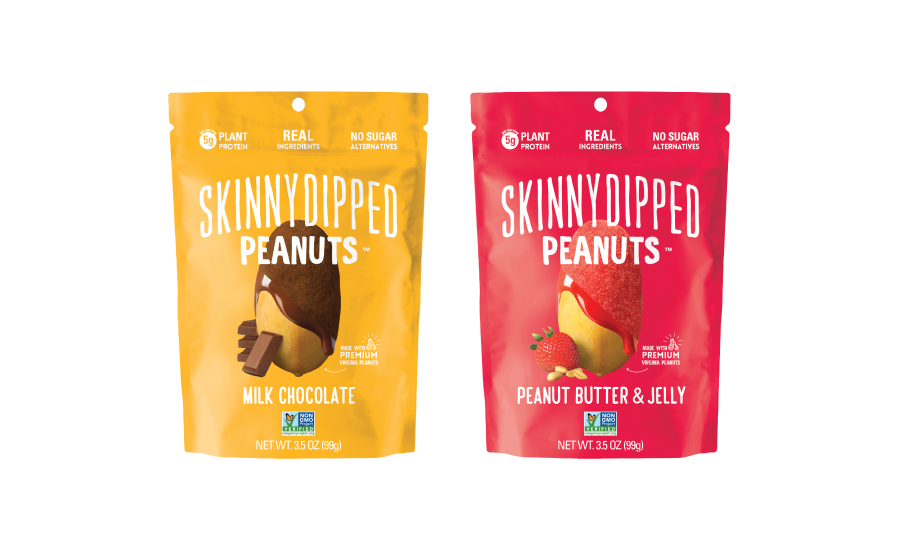 SkinnyDipped Thinly Dipped Peanuts