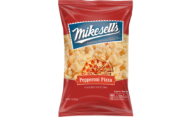 Mikesells Snack Food Co. Salt & Lime Potato Chips and Pepperoni Pizza Puffcorn