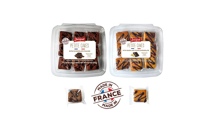 Jacquet Authentic French Petite Cakes
