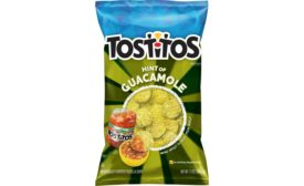 Tostitos Hint of Guac tortilla chips