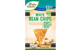 ALDI Simply Nature Black or White Bean Chips, and Clancys White Cheddar Cheese Popcorn