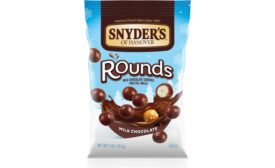 Snyders of Hanover Milk Chocolate Covered Pretzel Rounds