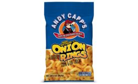 Andy Capps Beer Battered Onion Rings Baked Oat and Corn Snacks