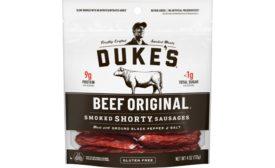 Conagra Brands new meat and plant-based snacks: Slim Jim, Dukes, Gardein
