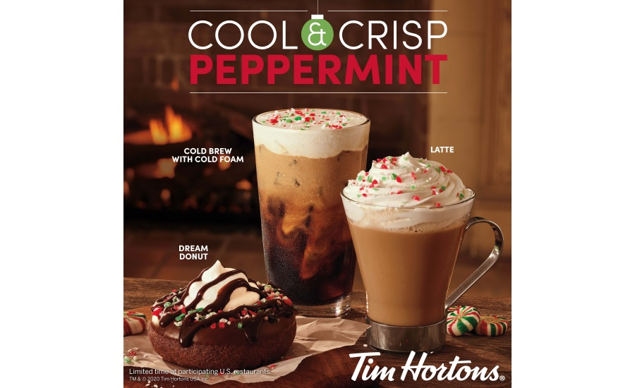 Tim Hortons rings in the holiday season with new product line-up