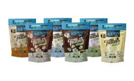Tidbits Fun Bites: Regular, Keto-friendly, and Diabetic-friendly, and Tidbits Black Sheep CBD Bites