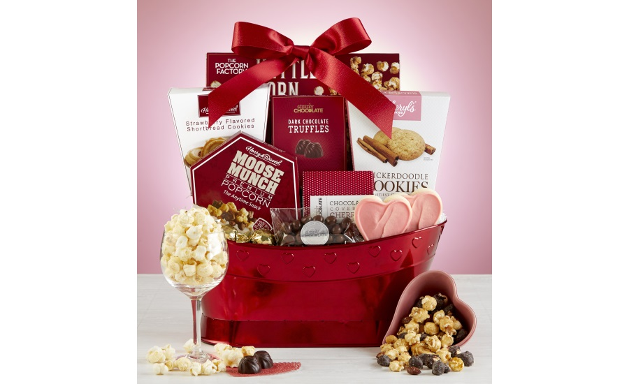 1-800-Baskets.com True Love Valentine Gift Basket