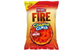 Herrs Fire Ridged potato chips and cheese curls