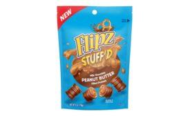 Flipz StuffD and Flipz Bites chocolate-covered pretzels