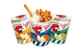 The Laughing Cow & Go portable snack cups