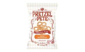 Pretzel Pete launches two gluten-free varieties of its gourmet pretzel snacks