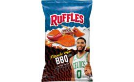 Ruffles Flamin Hot BBQ Chips