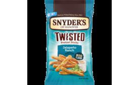 Snyders of Hanover Twisted Pretzel Sticks