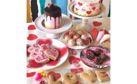 Valentines Day desserts from Yvonnes Vegan Kitchen