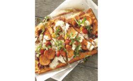 US Foods Non-GMO Artisan Focaccia Square Bun and Gluten-Free Sweet Potato Flatbread