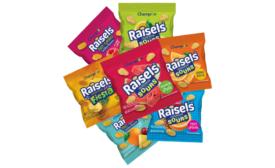 Raisels Pick-Your-Mix option for sour raisins