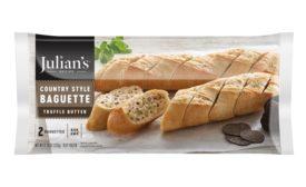 Julians Recipe Truffle Butter Country Baguettes and Cauli-Wafels