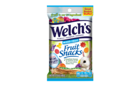 Welchs Easter Fruit Snacks Mixed Fruit 3.75oz Peg Bag
